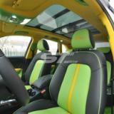 供应奥迪Q5改装黑绿黄搭配内饰汽车内饰改色/表台顶棚包真皮