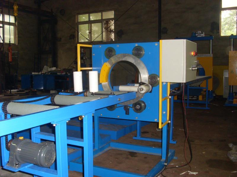 供应可定位PVC管材裹包机厂家报价