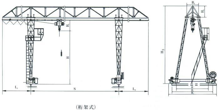 新乡市龙门吊供应园林厂家_制作龙门吊制作图图纸设计师工作规划图片