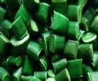 PE破碎料绿丙再生塑料破专用注塑图片