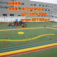青田幼儿园EPDM塑胶场地图片