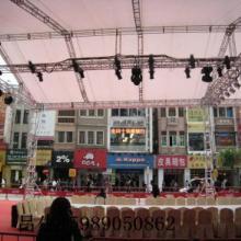 供应广州灯光音响舞台租赁桁架背景搭建图片