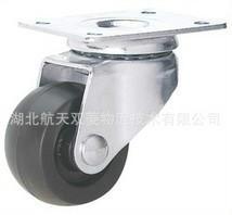 家具脚轮2寸尼龙轮和透明滑板轮图片/家具脚轮2寸尼龙轮和透明滑板轮样板图 (1)