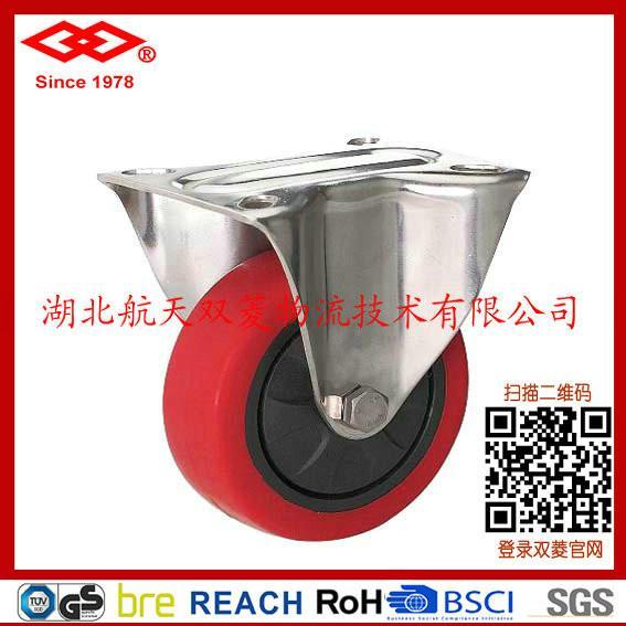聚氨酯脚轮图片/聚氨酯脚轮样板图 (1)