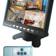 四路画面分割器车载监视器主机图片