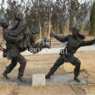 供应厂家人物直销铜雕/仿铜人像雕塑/玻璃钢户外园林景观雕塑/来图订做