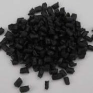 黑色灰色阻燃环保ABS再生颗粒厂家图片