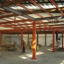 供应福州厂房建设项目施工图片