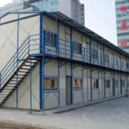 上海金山区雅致单坡活动房双坡活房图片