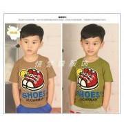 卡通短袖男童T恤图片