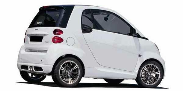 轮派客oz打造奔驰smart改装轮毂 高清图片