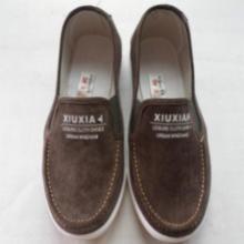 供应男起更车缝线鞋老北京布鞋厂家直销图片