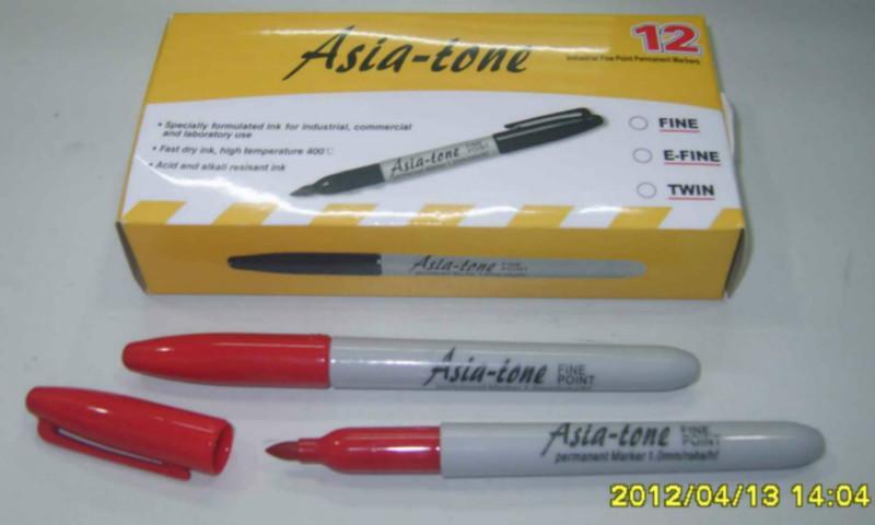 防干记号笔红色防干记号笔