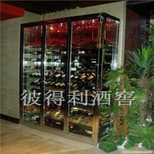 供应安徽福建定制不锈钢酒架酒柜