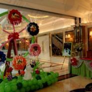 气球摩天轮/气球草坪/气球王国图片