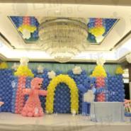 气球浣熊/气球宝宝宴/气球装饰图片