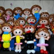 宝宝宴气球布置/气球装饰造型装饰图片