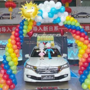 4S店新年气球装饰/气球装饰设计图片