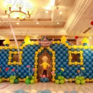 成都气球城堡图片