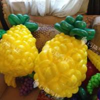 供应水果气球,魔术气球菠萝,气球樱桃,气球草莓