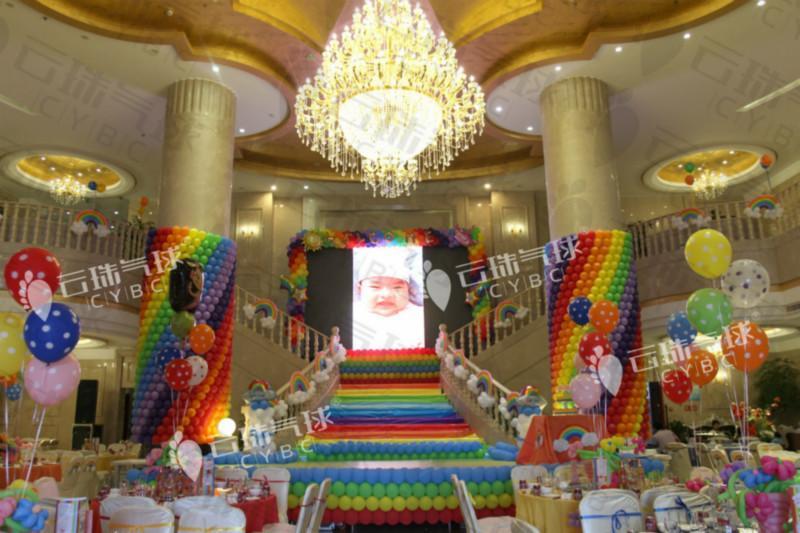 供应宜宾树高酒店气球装饰,宝宝宴策划,活动装饰布置,装饰气球