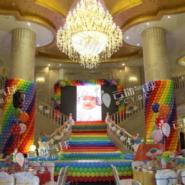 宜宾树高酒店气球装饰图片