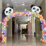 供应气球拱门/气球造型/造型拱门/宝宝宴装饰/气球造型布置