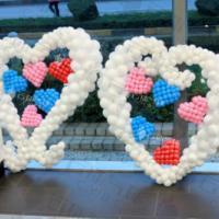 供应3.8妇女节/女生节/节日庆典装饰/气球装饰布置/气球造型布置