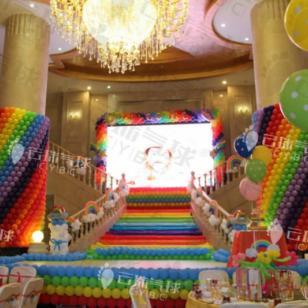 宝宝宴气球布置/主题气球宝宝宴图片