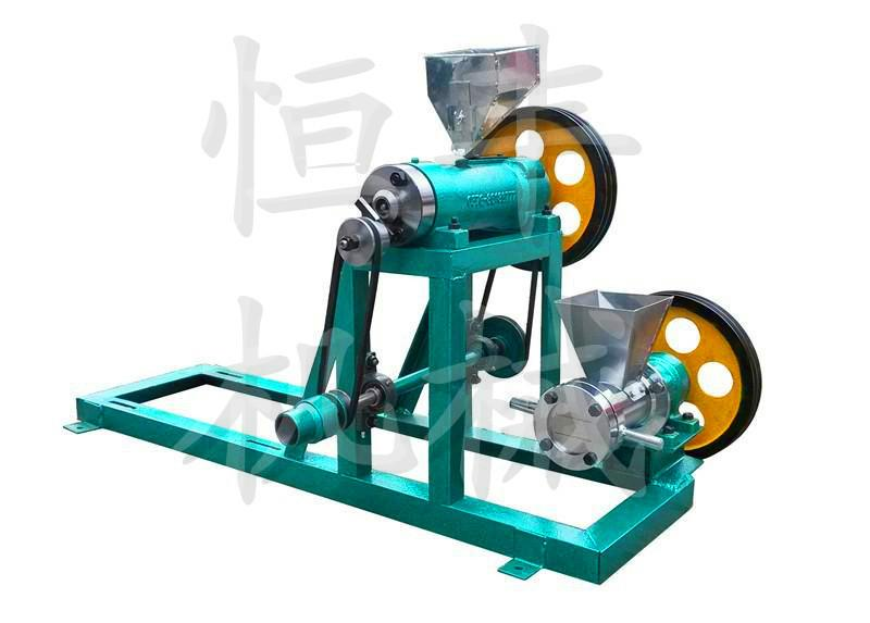 供应弯管型食品膨化机