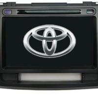 丰田汉兰达专车专用DVD导航工厂价
