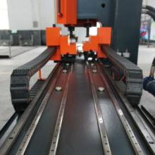 供应富兰科高速槽钢液压冲孔机 专业冲孔机床