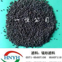 供应滤料·锰砂·锰砂滤料