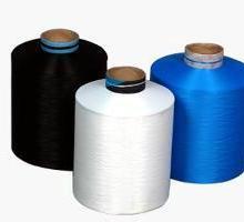 供应机织用黑色纯涤纱纯涤纶针织特黑大化纤纯涤纶大化黑色纱批发
