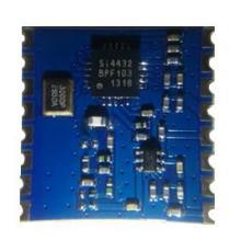 供应FSK无线双向RF模块SI4432S远距离