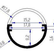 25珠SMD横插灯LED横插筒灯图片