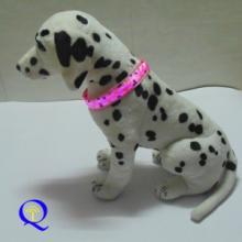 供应LED图案宠物项圈 2014新款发光宠物脖套 闪光狗狗链圈牵引绳