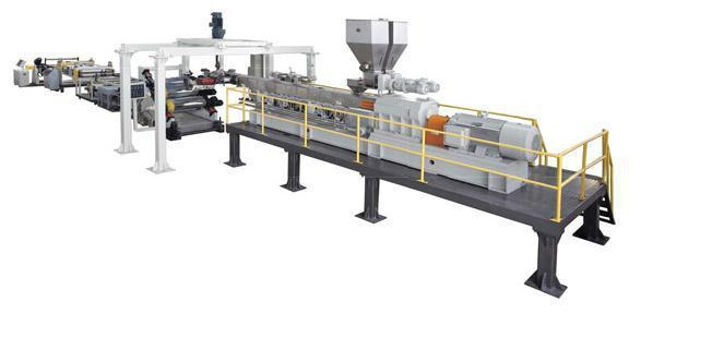 金韦尔PET单层包装吸塑片材生产线