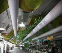 绍兴布质布风管图片