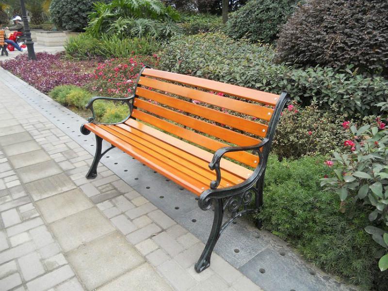 户外/供应藤县户外公园椅,户外休闲椅图片