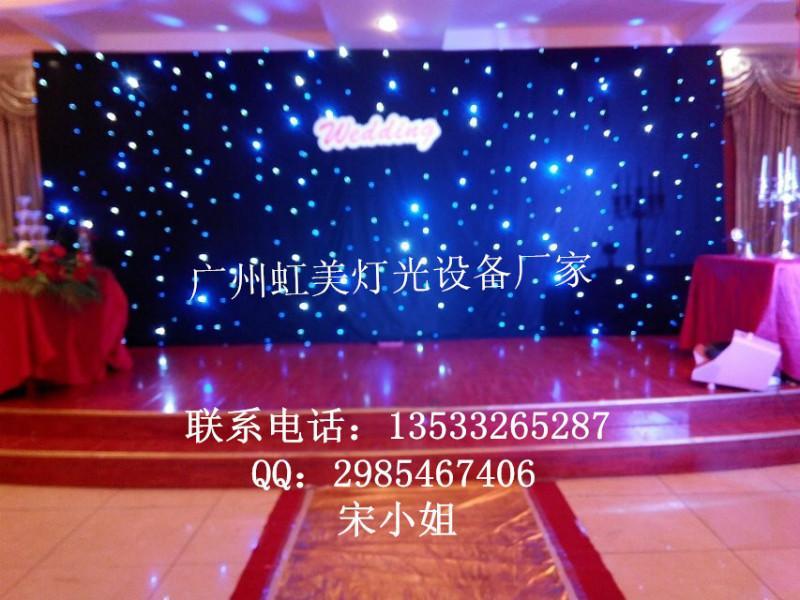 星空布系列产品 感谢各新老顾客对广州虹美舞台灯光的支持 高清图片
