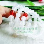 惠州白玛瑙手链图片