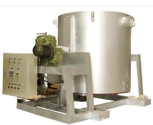 供应广东500公斤熔铝炉铝合金熔炉厂家翻转式熔炉