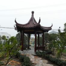 供应用于别墅景观的上海浦东古建木凉亭价格及图片批发