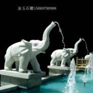 欧式人物石雕喷泉图片