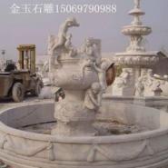 嘉祥石雕欧式人物喷泉图片