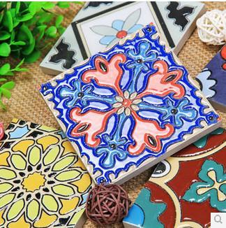 供应仿古外墙砖厨房瓷砖欧式花片砖 高清图片