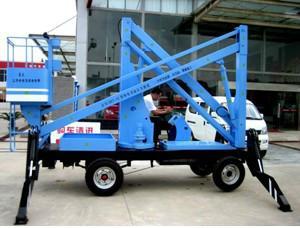 供应10米升降机-曲臂式升降机图片