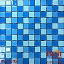 供应地中海风格水晶玻璃马赛克背景墙砖