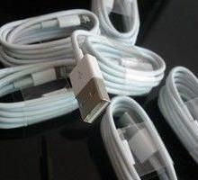 供应用于手机配件的苹果5s数据线5S后盖